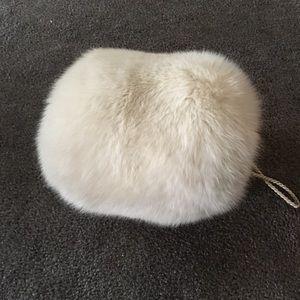 White Mink Muff
